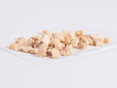 "1230 Natural Proportion 1/2"" Diced Chicken image"