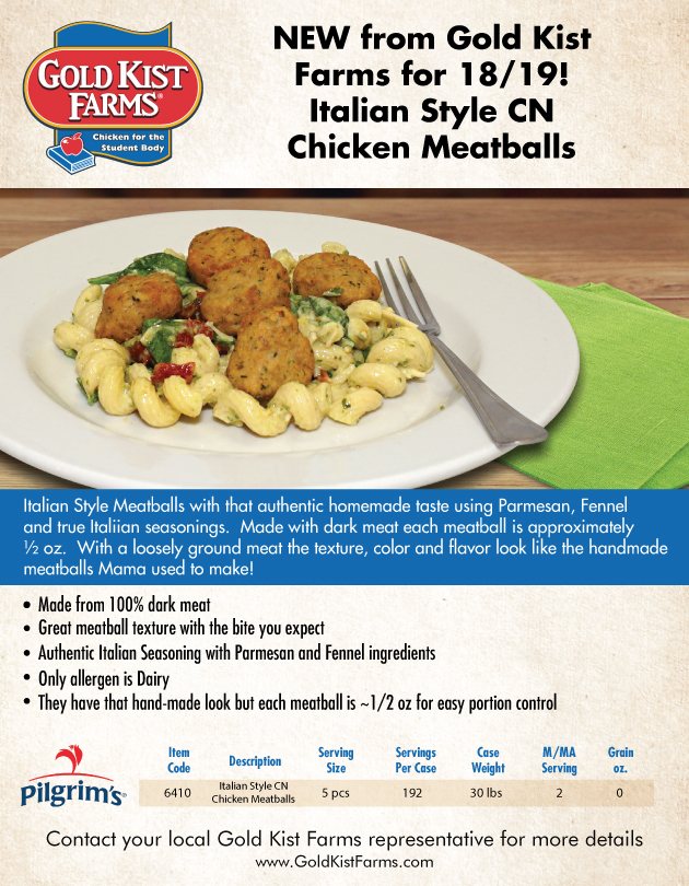 Thumbnail image - New! Chicken Meatballs
