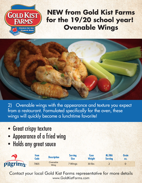 Thumbnail image - Ovenable Wings