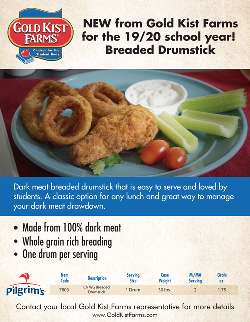 Thumbnail image - Breaded Drumstick