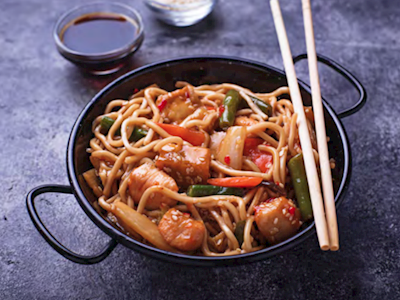 Chicken Teriyaki Noodle Bowls image
