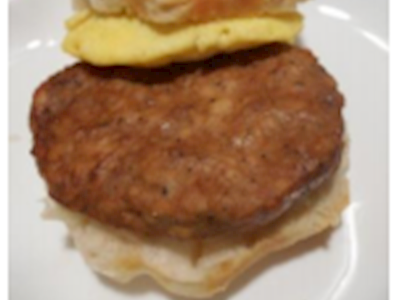776390 JBC NAE Dark Meat Chicken Sausage Patty image